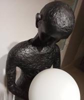 Торшер Fault Black/White H187