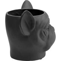 Кашпо декоративное Bulldog Black