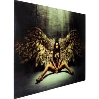 Картина на стекле Angelwings 80x120cm
