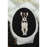 Картина на стекле Doberman Bodyguards 60x80cm