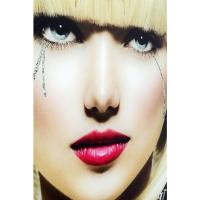 Картина на стекле Runny Eyes 80x80cm