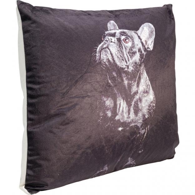 Подушка Looking Up Dog Black 45x45cm