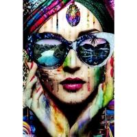Картина на стекле Colorful Artist 80x120cm
