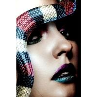 Картина на стекле Snake Girl 80x120cm