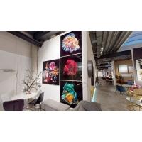 Картина на стекле Aqua Queen Fish 100x100cm