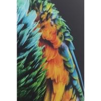Картина на стекле Tropical Parrot 120x80cm