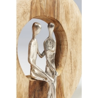 Декоративный объект Couple In Log