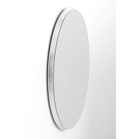 Зеркало Jetset Oval Silver 94x64cm