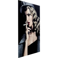 Картина на стекле Smokey Lady 120x80cm