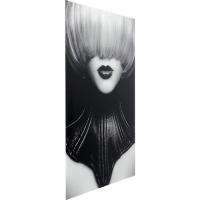 Картина стеклянная Vogue Face 80x120cm