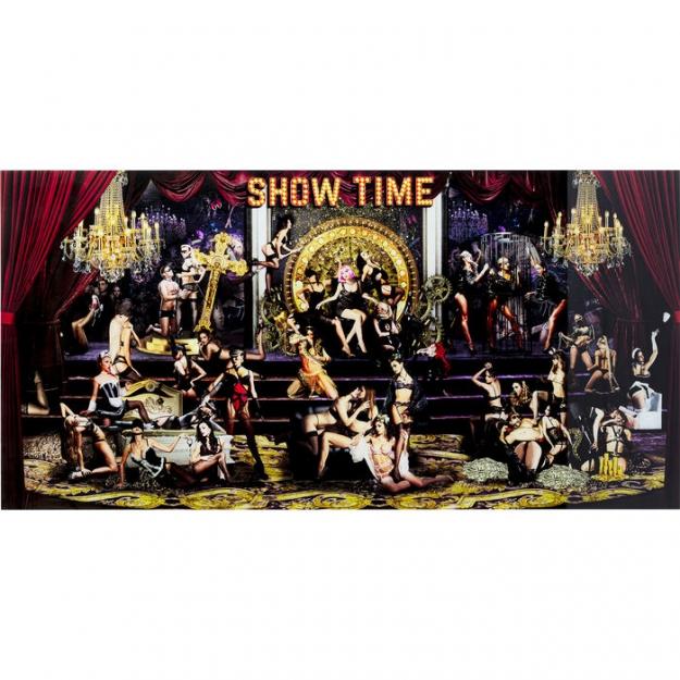 Картина на стекле Showtime 180x90сm