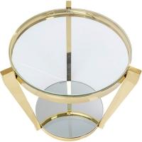 Журнальный столик Monocolo Gold Ø50cm