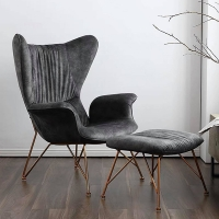 Кресло с оттоманкой Darkline