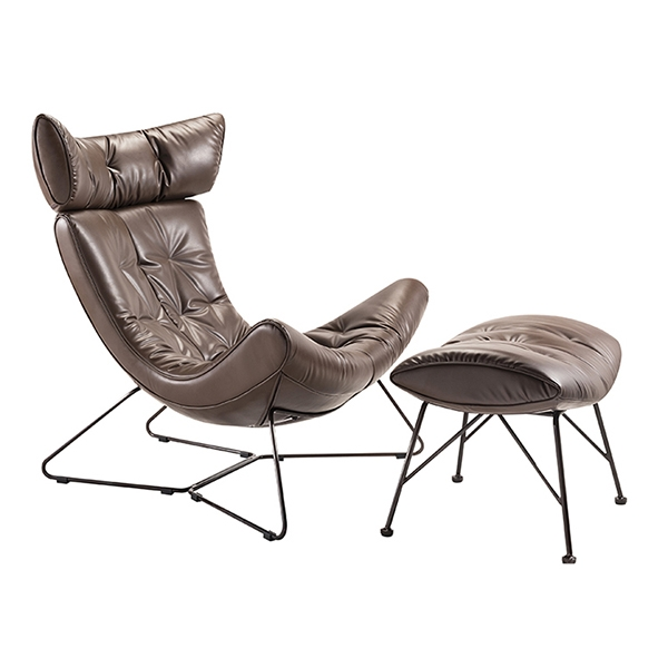 Кресло с оттоманкой Grant Brown