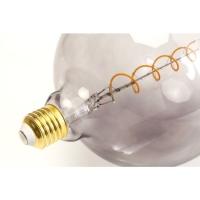 Декоративная Лампа LED Bulb Spiral Grey
