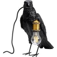 Настольная лампа Animal Crow Mat Black