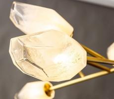 Люстра Tulip Gold/White D120
