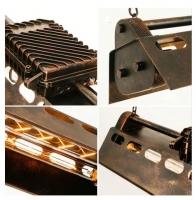Люстра Mechanics Rust W80