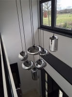 Подвес Loft Glass Smoky Grey  D14/H33