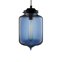 Подвес Loft Glass Blue D17/H27