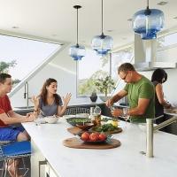 Подвес Loft Glass Blue  D23/H23