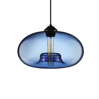 Подвес Loft Glass Blue  D28/H14