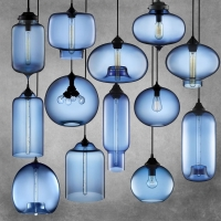 Подвес Loft Glass Blue  D27/H20