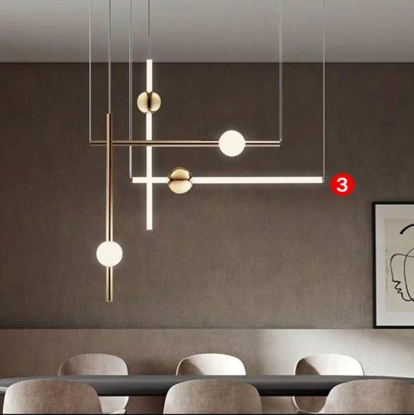 Подвес LED Elements Gold/White L60/W10 (3)