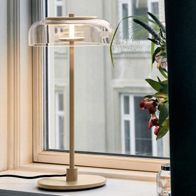 Настольный светильник LED Jellyfish Gold/Amber H43/D23