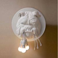 Бра Bulldog 3P White