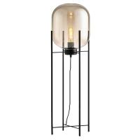 Торшер Glass Oval Amber H140/D45