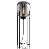 Торшер Glass Oval Smoky Grey H140/D45