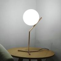 Настольный светильник Berry Gold/White D20