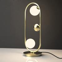 Настольный светильник Berry Gold/White H48