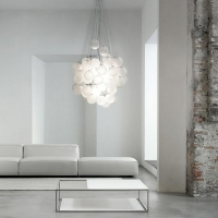 Люстра LED Bubbles White D50