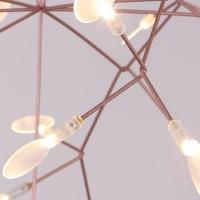 Люстра LED Petals Copper D50