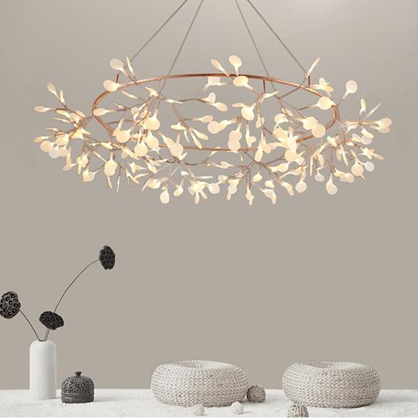 Люстра LED Petals Copper D160