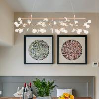 Люстра LED Petals Copper L100/H30