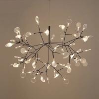 Люстра LED Petals Black D98