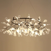 Люстра LED Petals Black D160