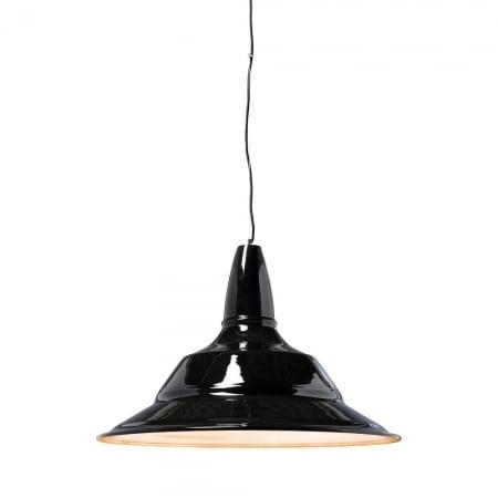 Pendant Lamp Plate Black 70cm