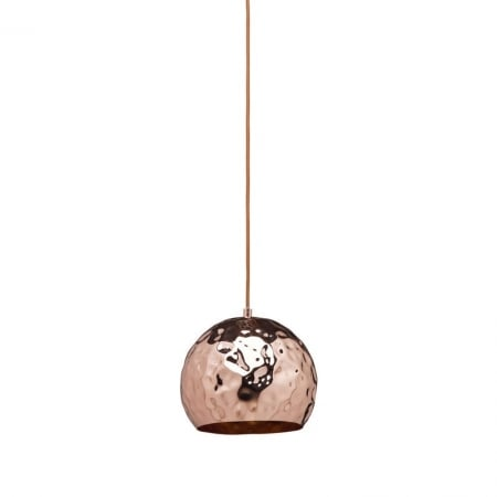 Pendant Lamp Rumble Copper Round