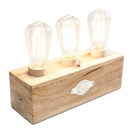 Table Lamp Edison 3er