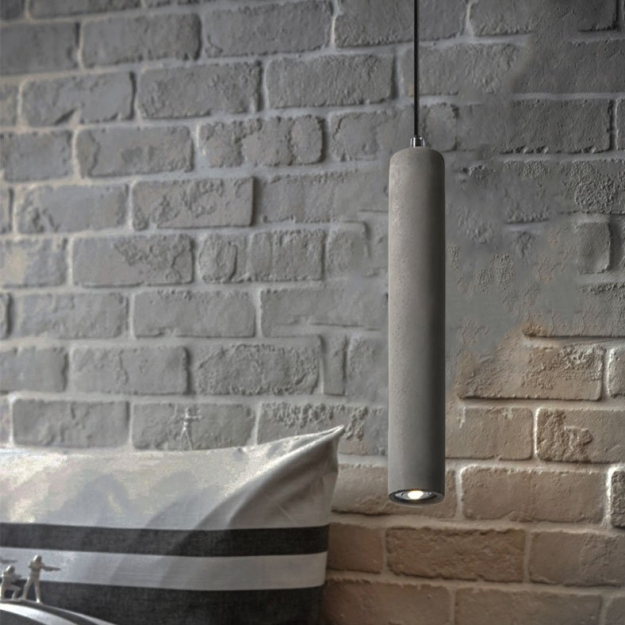 Подвес LED Beton Space Grey H50/D7