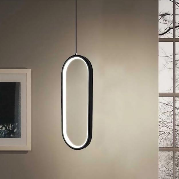 Подвес LED Portal Black/White H40