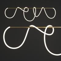Подвес LED Elision Gold/White L120