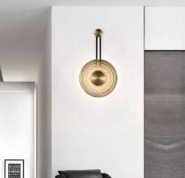 Бра LED Orbit Gold D27