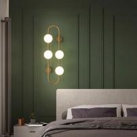 Бра LED Vertigo Gold/White H72