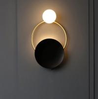 Бра LED Liberty Black/Gold H49