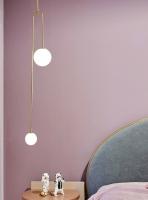 Подвес LED Gently Gold/White H137